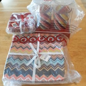 Missoni for Target chevron zig zag melamine dishes